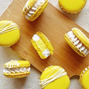 atelier macaron citron meringué